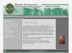 Kepler Antiquariat